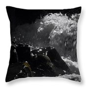 Ready Set Action Throw Pillow