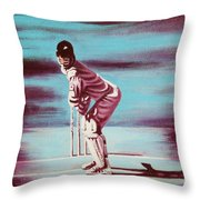 Ready To Bat Throw Pillow
