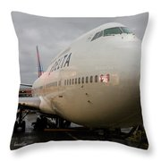 Ready To Board Throw Pillow