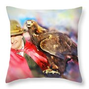 Ready To Fight Throw Pillow