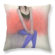 Ready To Fly Throw Pillow by Steve Mitchell