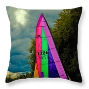 Ready To Sail Throw Pillow