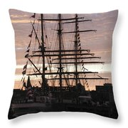 R'eagle Sunset Throw Pillow