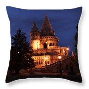 Real Life Minas Tirith Budapest Throw Pillow