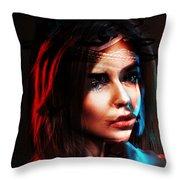 Real Patricia Throw Pillow