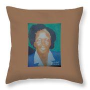 Realism Painting Throw Pillow