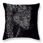Realistic Cheeta Throw Pillow