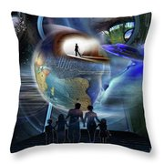 Reality Shifters Throw Pillow