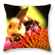 Really Getting Into It Throw Pillow