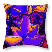 Really Wildflowers Throw Pillow
