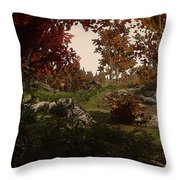 Realm Of Nature Throw Pillow