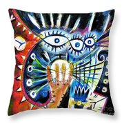 Realy Into It Throw Pillow
