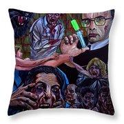 Reanimator Throw Pillow
