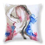 Rear View - Corina's Best Throw Pillow