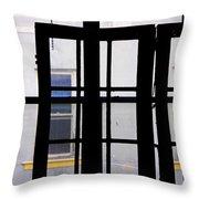 Rear Window 1 Throw Pillow