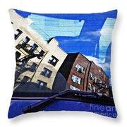 Rear Window Throw Pillow