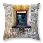 Rear Window Throw Pillow