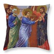 Reassuring Thomas Fragment 1311 Throw Pillow