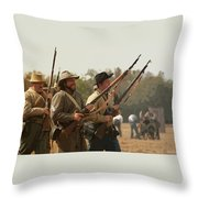 Rebel Charge Throw Pillow