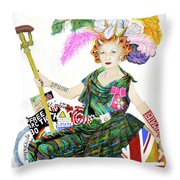 Rebel With A Cause Throw Pillow