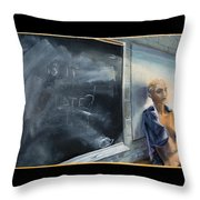 Rebirth Throw Pillow by Break The Silhouette