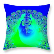 Rebirth II Throw Pillow