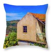 Rebordelo House Throw Pillow