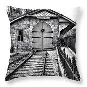 Receding Lines IIi Throw Pillow