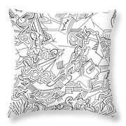Receptive Throw Pillow