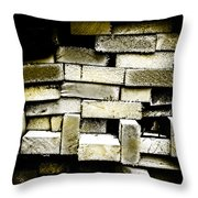 Reclaimed Lumber Throw Pillow