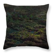 Reclaiming Moss Throw Pillow