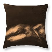 Reclining Throw Pillow