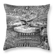 Reconstruction -- Civil War Era Throw Pillow