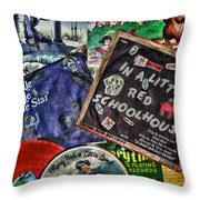 Records For Children Throw Pillow