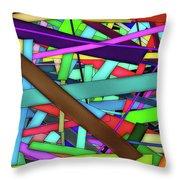 Rectangle Matrix 24 - Amcg20180305 40 X 27 Throw Pillow