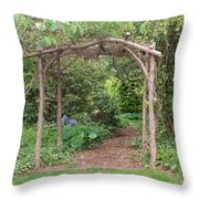 Recycled Arbor Throw Pillow
