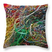 Recycled Thread Throw Pillow