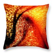 Red 107 Throw Pillow