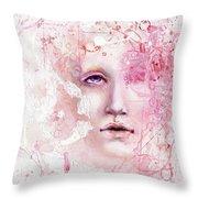 R.e.d. 6 Throw Pillow