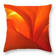 Red 69 Throw Pillow