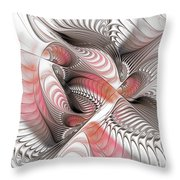 Red And Brown Throw Pillow