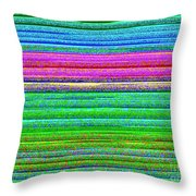Red And Violet Throw Pillow