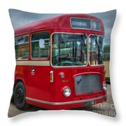 Red And White Rs 167 - Bristol Resl6l  #2 Throw Pillow