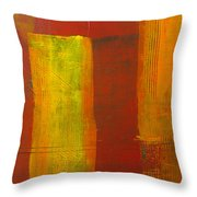 Red And Yellow #1 Throw Pillow