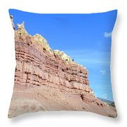 Red And Yellow Fortress Number 2 Throw Pillow