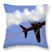 Red Arrow Throw Pillow