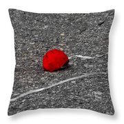 Red Balloon IIi Throw Pillow