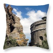 Red Basilica Scene 1 Throw Pillow
