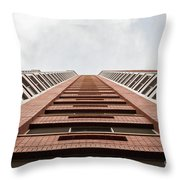 Red Brick Road Throw Pillow