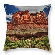 Red Butte Throw Pillow